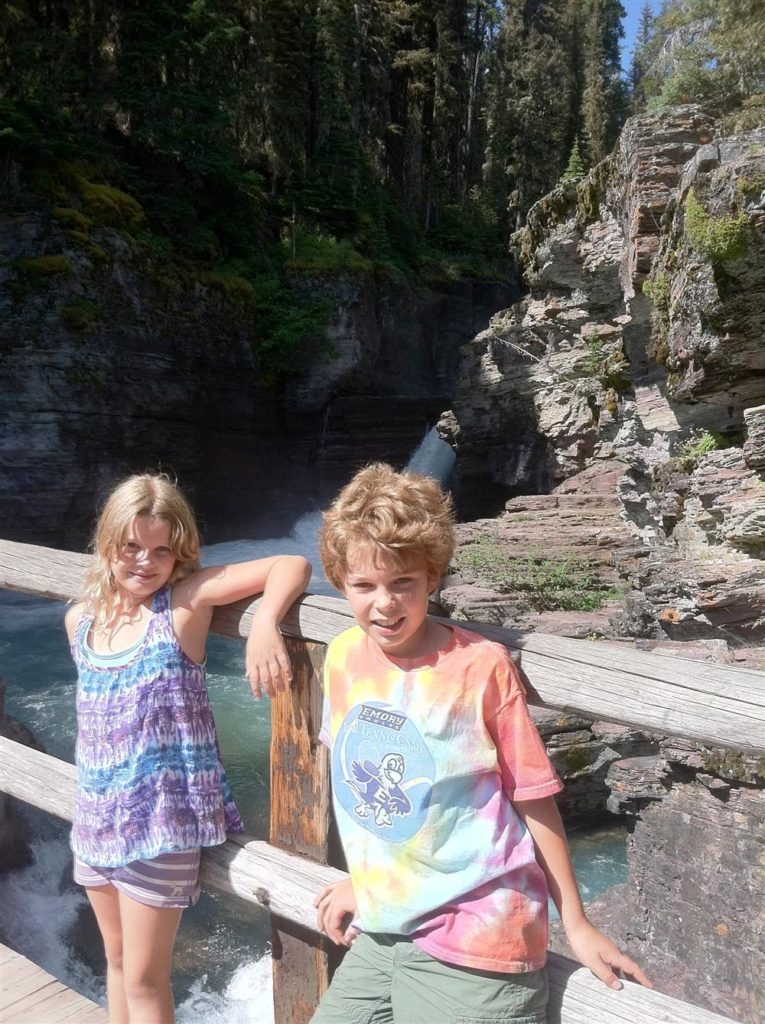 Michelle Nunn's Kids at the National Park