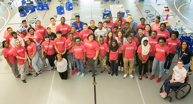 The ServiceWorks Bootcamp gave these Houston youth a chance to learn workplace skills, expand their networks and take part in service project.