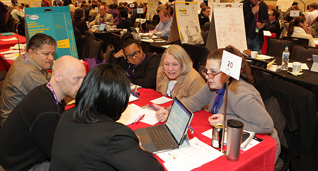 Project management professionals help representatives from Washington, D.C., region nonprofits scope obstacles and create action plans for their organizations' executives.