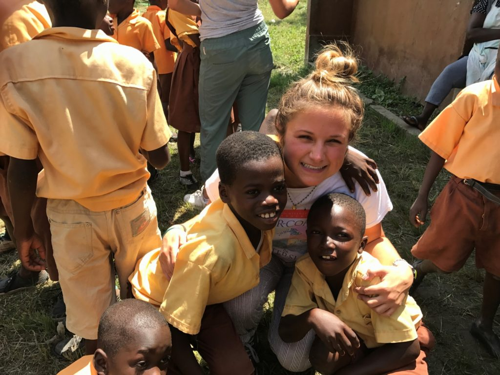 Mai Griffith during her a 2017 trip where she delivered medical supplies to an orphanage in Ghana./ Courtesy Mai Griffith