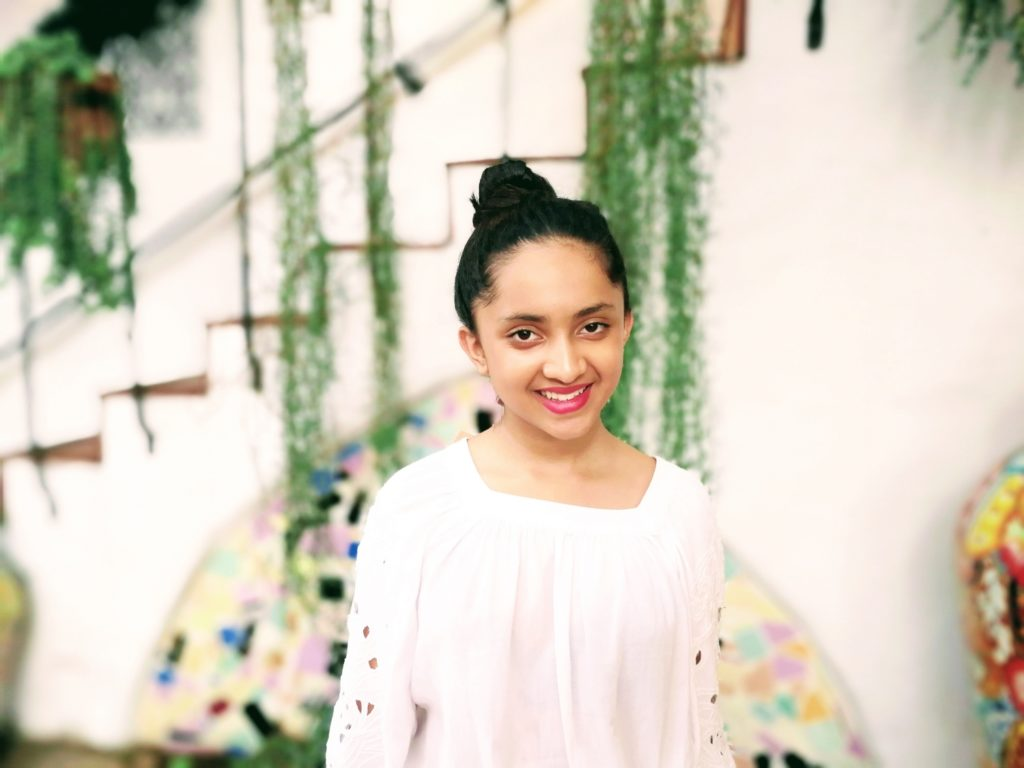Mahika Halepete, 16, founded AYANA International, a nonprofit that empowers youth in developing countries to design and implement projects that improve their communities./Courtesy Mahika Halepete