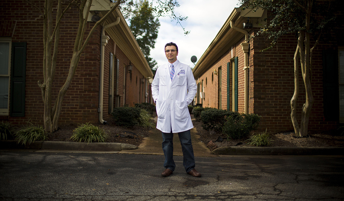 Having gone from dishwasher to cardiology fellow, Dr. Heval Kelli created the Young Physicians Initiative to ensure other young aspiring doctors can find the support and guidance he received in his youth. /Credit: Emory University