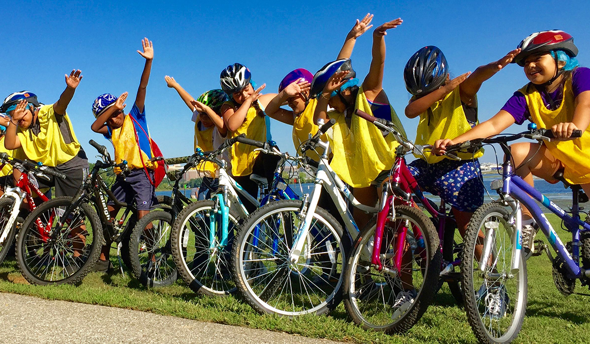 Alexandria Bicycle Pedestrian Advisory Committee Bike Rodeo
