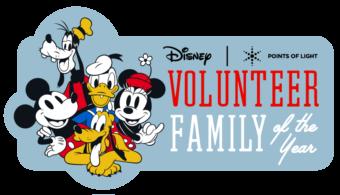 Disney Volunteer Family of the Year