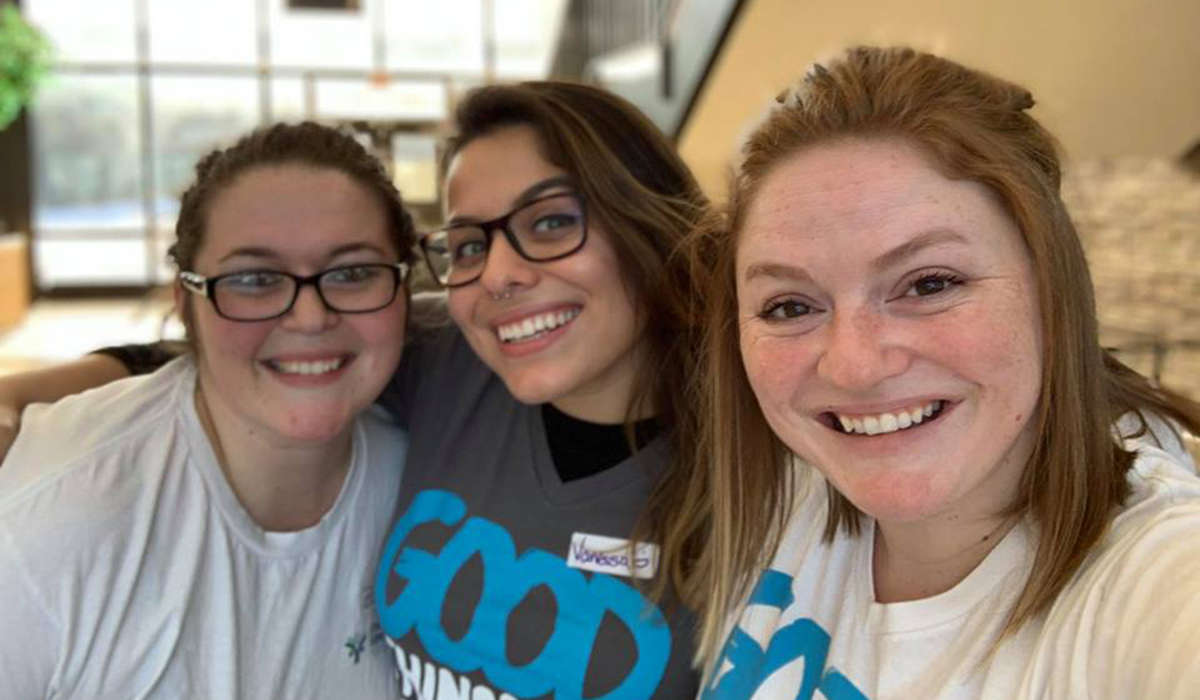 Shannon Galford and Chicago Cares Service Fellows