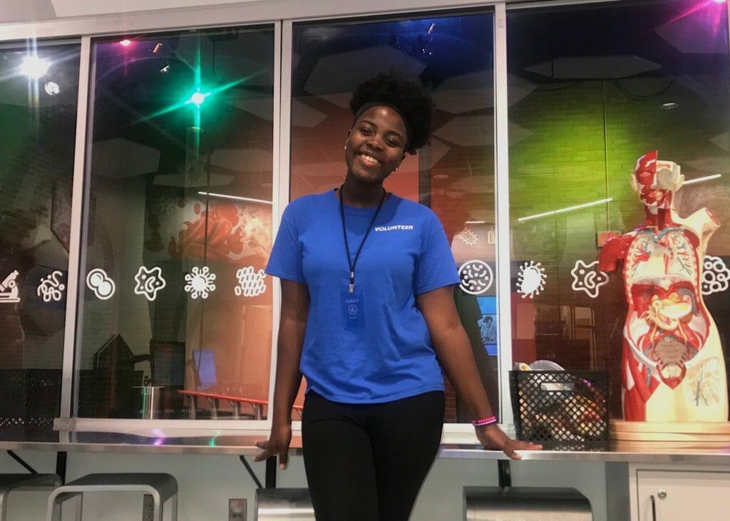 Sarah Houston Daily Point of Light Award Honoree 6523