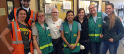 Volunteers, including a family of four, stepped up to staff the Napa emergency volunteer center during the North Bay Wildfires in 2017.