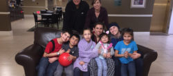 Orlando Family, finalists for Disney and Points of Light Volunteer Family of the Year.