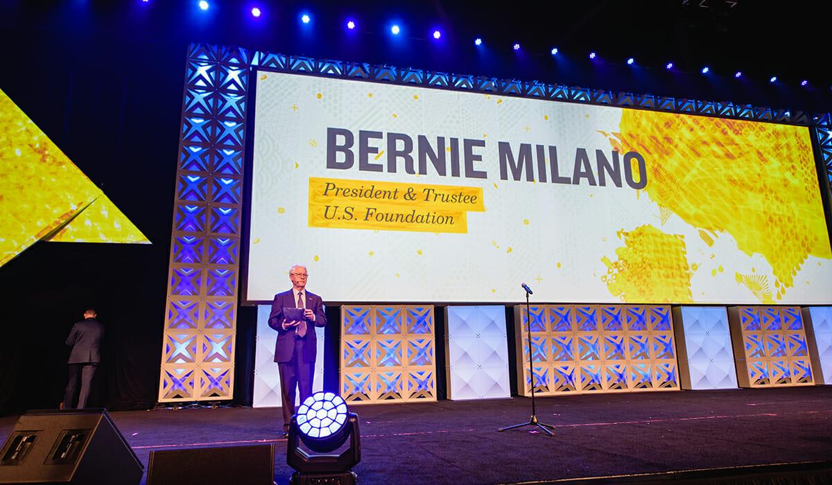 Bernie Milano Daily Point of Light Award Honoree
