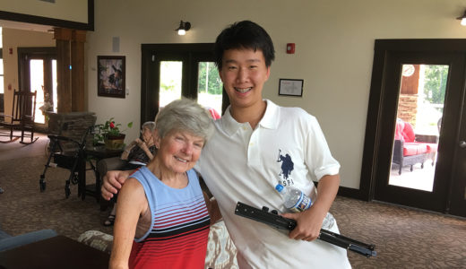 Vincent Wu Daily Point of Light Award Honoree