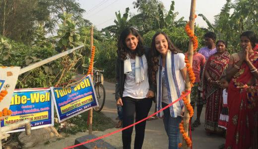 Simran Bhargava and Malika Rawal Daily Point of Light Award Honoree