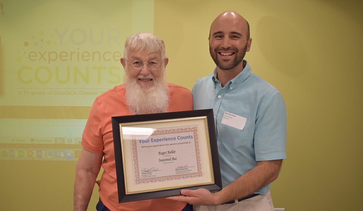 Roger Keller Daily Point of Light Award Honoree