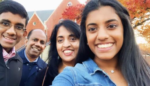 Javeenayagam family Daily Point of Light Award Honoree