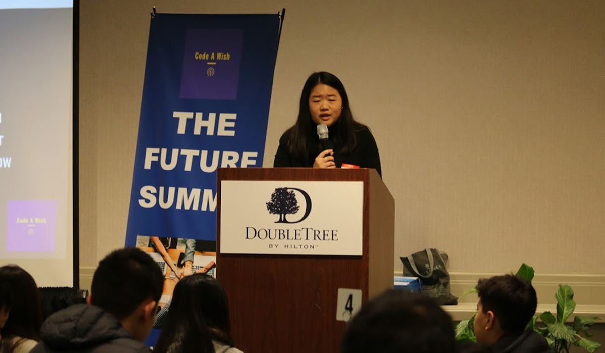 Faith Cheung Daily Point of Light Award Honoree