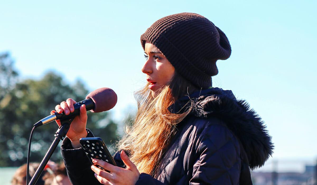 Sophia Kianni Daily Point of Light Award Honoree