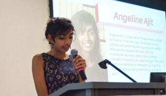 Angeline Ajit Daily Point of Light Award Honoree