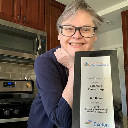 Jan Boyce Daily Point of Light Award Honoree