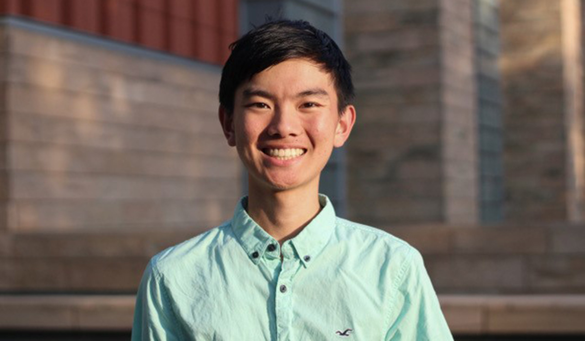 Andrew Gao Daily Point of Light Award Honoree