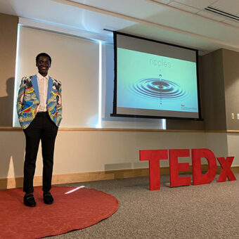 Asukulu Songolo Daily Point of Light Award Honoree