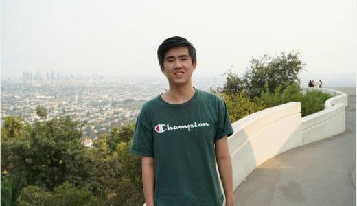 Andrew Hsu Daily Point of Light Award Honoree