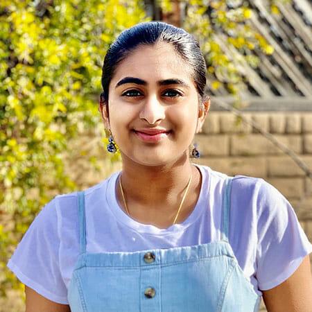 Nethra Srinivasan Daily point of light award honoree