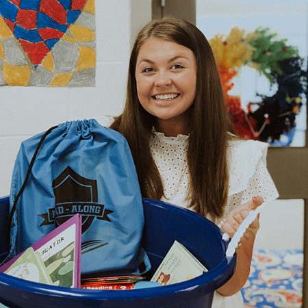 Griffyn Burrage Daily Point of Light Award Honoree